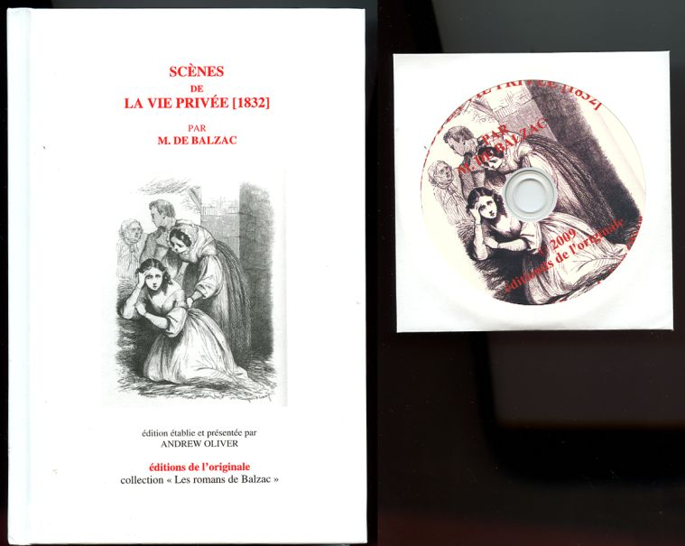 Image for Scenes De La Vie Privee [1832] -- with CD
