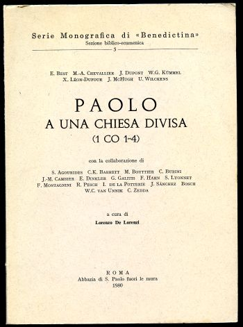 Image for Paolo A Una Chiesa Divisa (1 Co 1-4)