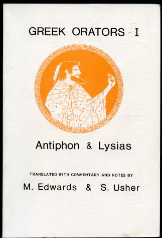 Image for Greek Orators I : Lysias, Antiphon
