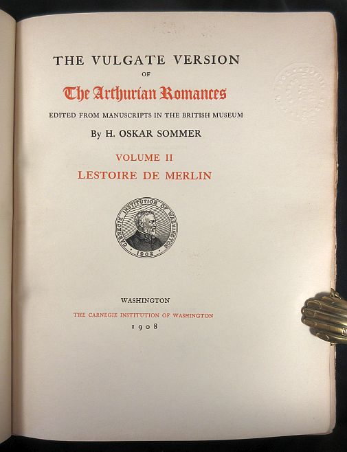 Image for The Vulgate Version of The Arthurian Romances edited from Manuscripts in the British Museum. Volume II. Lestoire de Merlin