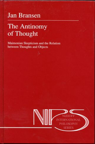 Image for The Antinomy of Thought: Maimonian Skepticism and the Relation Between Thoughts and Objects