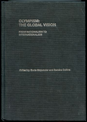 Image for Olympism:The Global Vision: From Nationalism to Internationalism