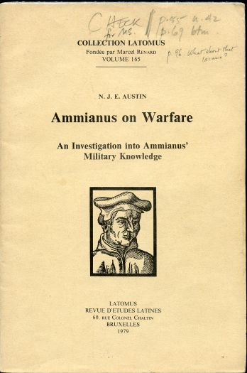 Image for Ammianus on Warfare: An Investigation into Ammianus' Military Knowledge
