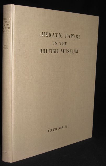 Image for Hieratic Papyri in the British Museum. Fifth Series. The Abu Sir Papyri