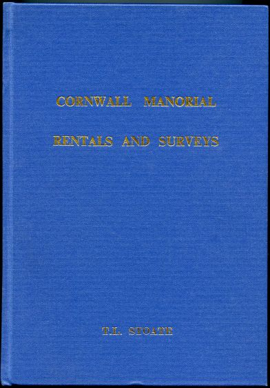 Image for Cornwall Manorial Rentals and Surveys