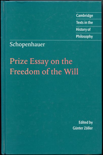 Image for Prize Essay on the Freedom of the Will