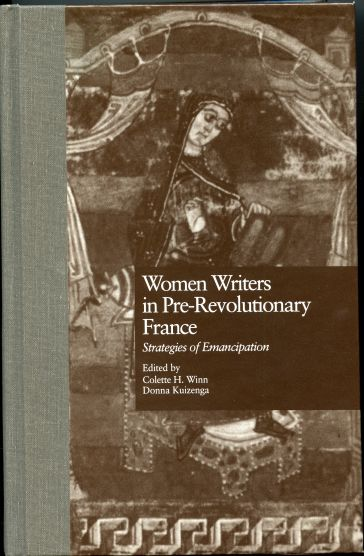 Image for Women Writers in Pre-Revolutionary France: Strategies of Emancipation