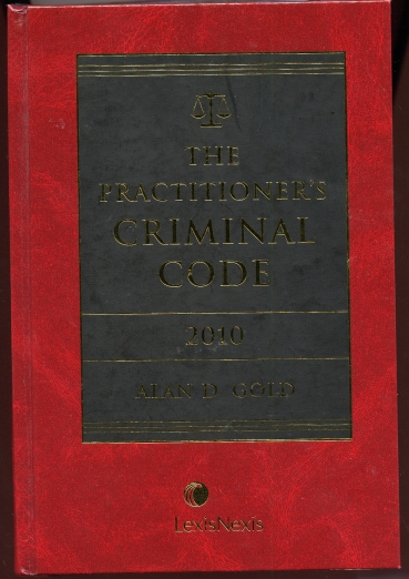 Image for The Practitioner's Criminal Code 2010.  With CD