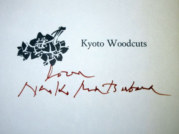 Image for Kyoto Woodcuts With Signed Print and Signed on the Half Title by the Author
