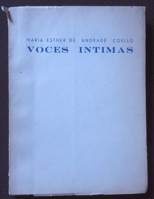 Image for Voces Intimas