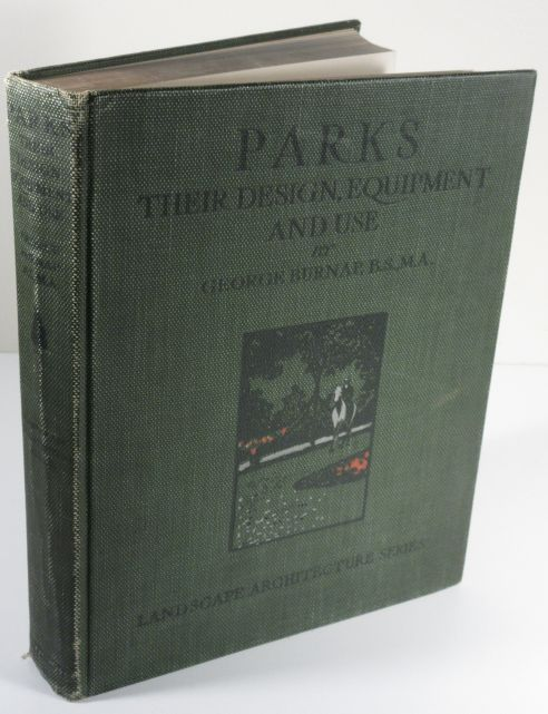 Image for Parks Their Design, Equipment and Use