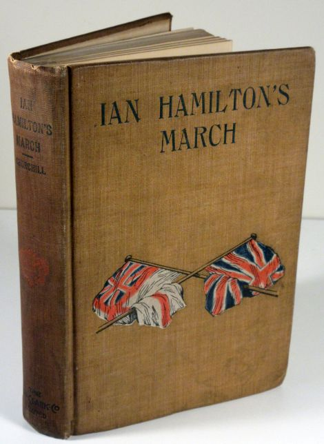 Image for Ian Hamilton's March.  Together with Extracts from the Diary of Lietenant H. Frankland a Prisoner of War At Pretoria.