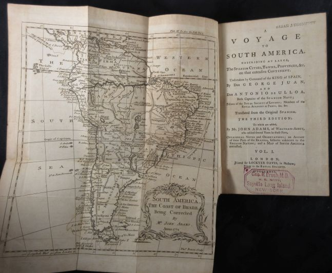Image for A Voyage to South America: Describing at Large the Spanish Cities, Towns, Provinces, Etc, on That Extensive Continent Undertaken, By Command of the King of Spain