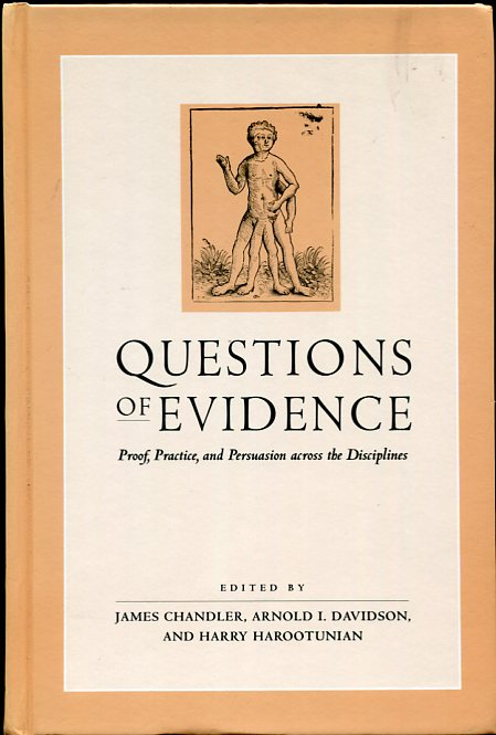 Image for Questions of Evidence Proof, Practice, and Persuasion Across the Disciplines