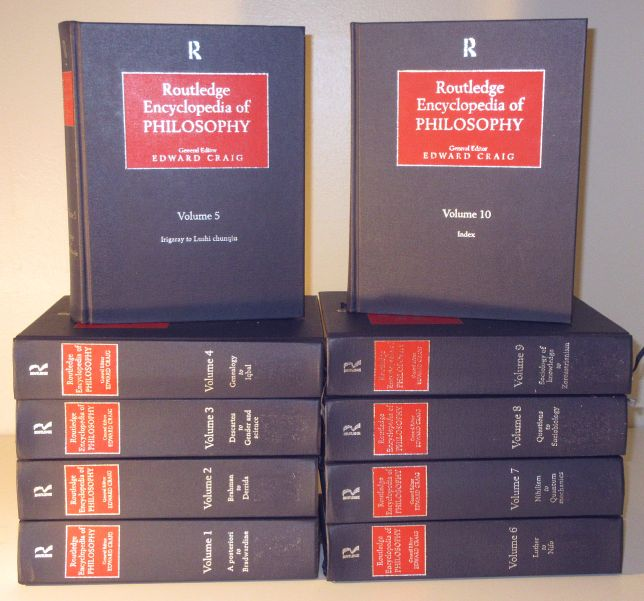 Image for Routledge Encyclopedia of Philosophy 10 Volume Set