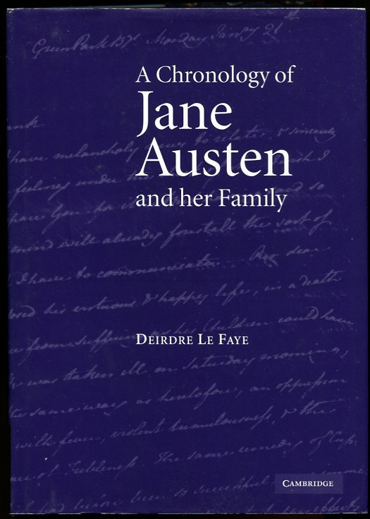 Image for A Chronology of Jane Austen and Her Family