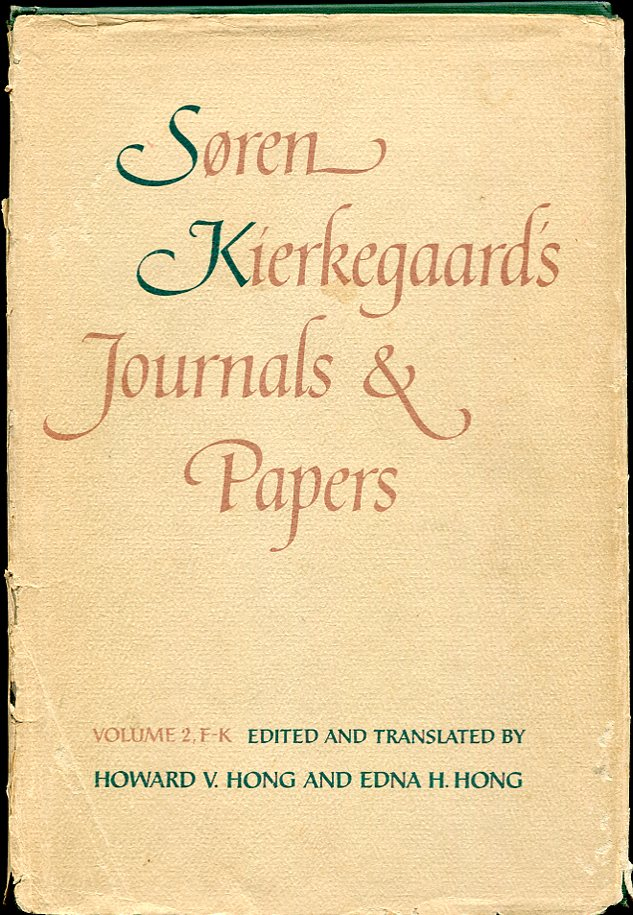 Image for Søren Kierkegaard's Journals and Papers, Volume 2, F-K