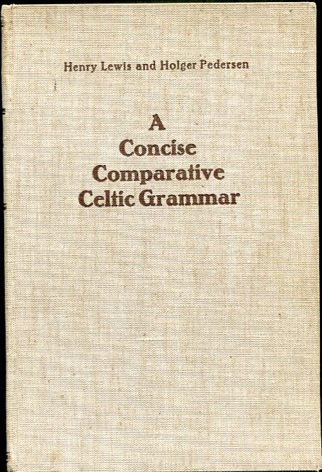 Image for A Concise Comparative Celtic Grammar
