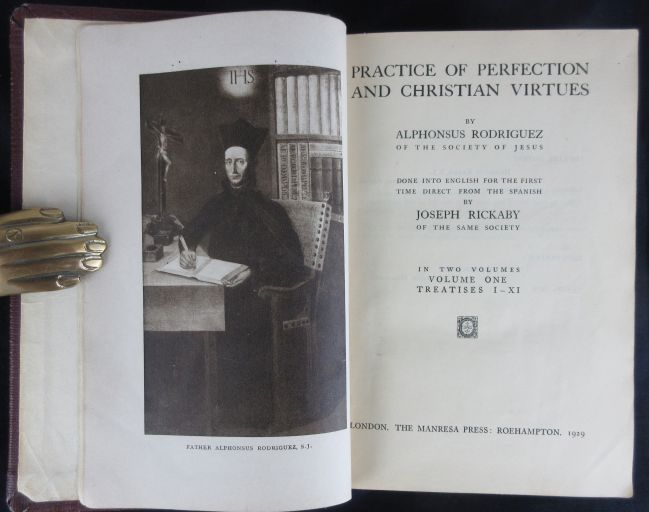 Image for Practice of Perfection and Christian Virtues. in Two Volumes Done Into English for the First Time Direct from the Spanish
