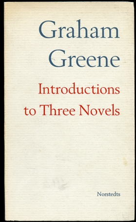 Image for Introductions to Three Novels