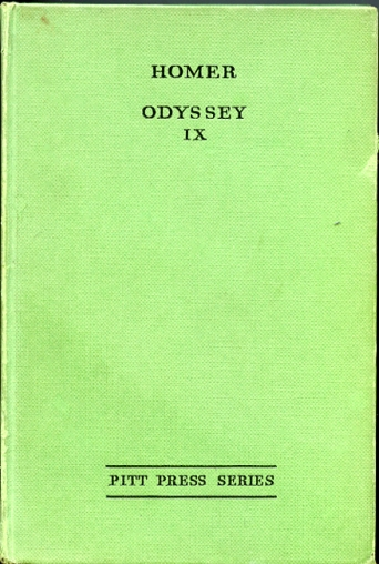 Image for THE ODYSSEY OF HOMER BOOK IX