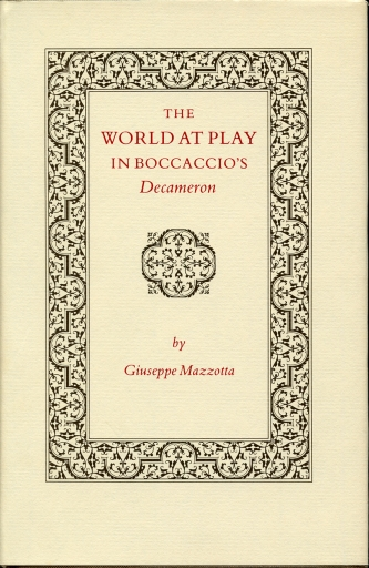 "Image for The World at Play in Boccaccio's ""Decameron"""