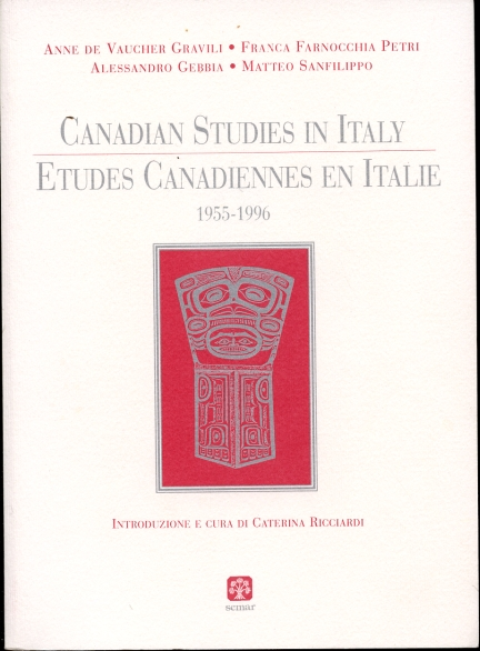 Image for Canadian Studies in Italy  Etudes canadiennes en Italie : 1955-1996