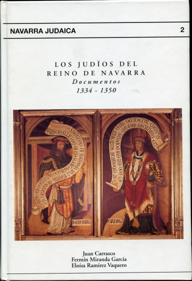 Image for Los judios del reino de Navarra   (Spanish Edition) Documentos 1334-1350