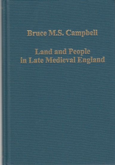 Image for Land and People in Late Medieval England