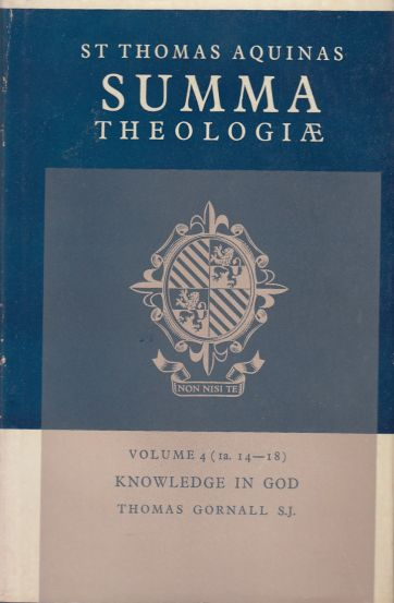 Image for Knowledge in God. Volume 4 (1a. 14-18)