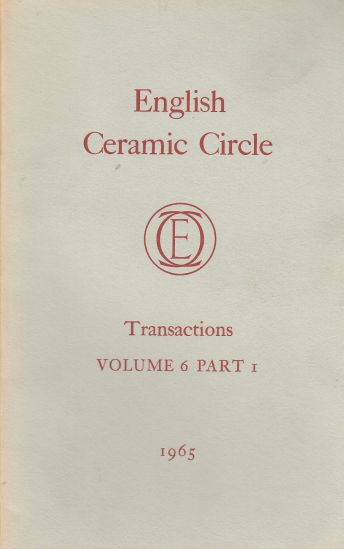 Image for The English Ceramic Circle Transactions: Volume 6, Part 1