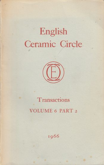 Image for The English Ceramic Circle Transactions: Volume 6, Part 2