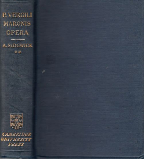 Image for P. Vergili Maronis OPERA Volume I. Introduction and Text. Volume II. Notes.