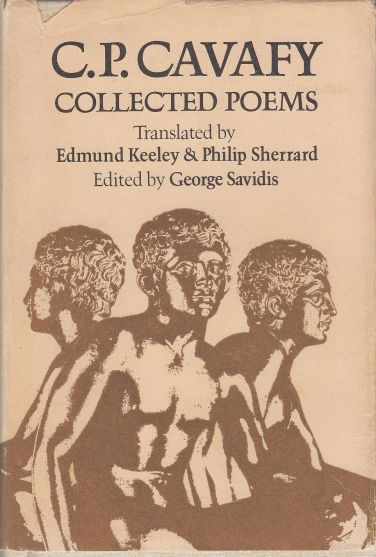 Image for C.P. Cavafy  Collected Poems   (English and Greek Edition)