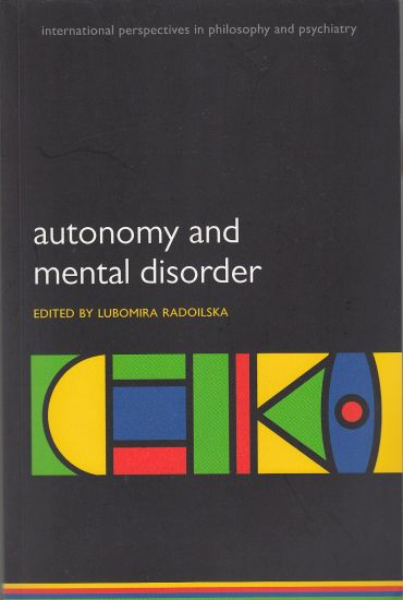Image for Autonomy and Mental Disorder