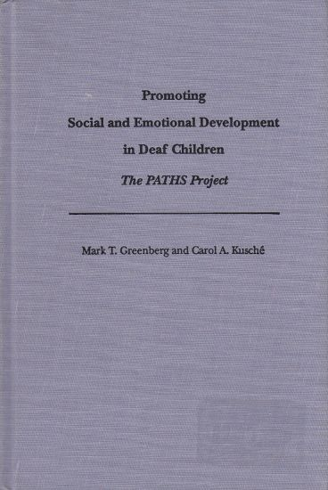 Image for Promoting Social and Emotional Development in Deaf Children  The Paths Project