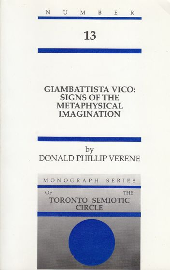 Image for Giambattista Vico Signs of the Metaphysical Imagination