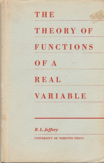 Image for The Theory of Functions of a Real Variable