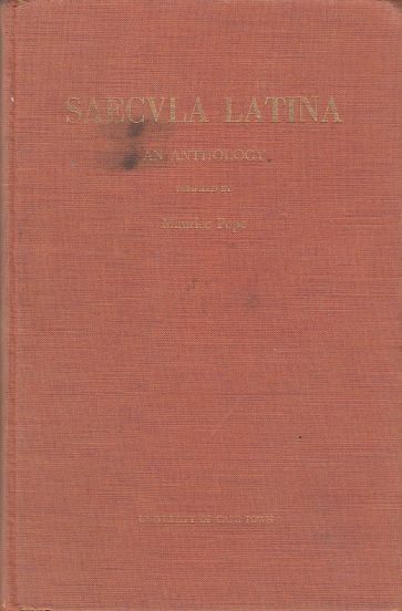 Image for Saecvla Latina (Saecula Latina)  From the Beginnings of Latin Literature to Sir Isaac Newton : an Anthology