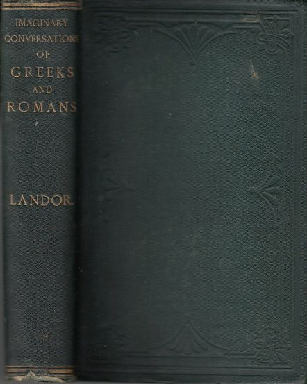 Image for Imaginary Conversations of Greeks and Romans