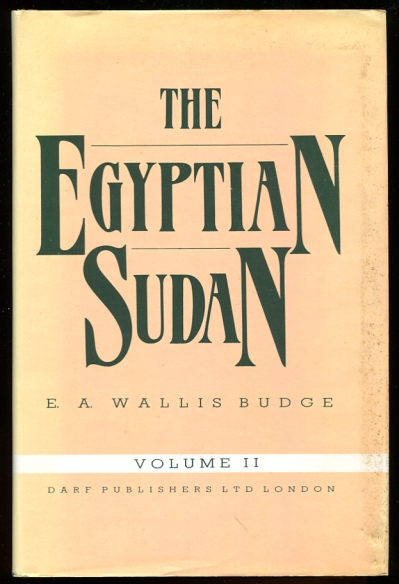 Image for The Egyptian Sudan. VOLUME II
