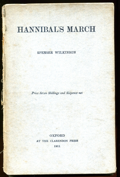 Image for Hannibal's March through the Alps Inscribed by the author