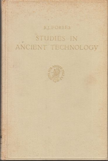Image for Studies in Ancient Technology, Volume 2 With 38 Figures and 7 Tables
