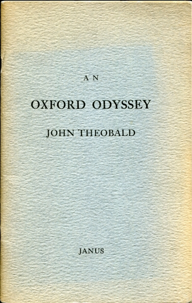 Image for An Oxford Odyssey