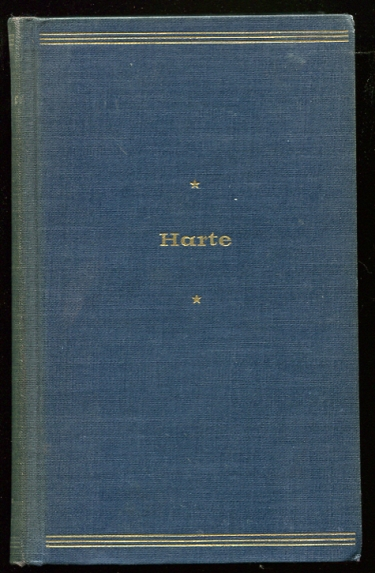 Image for Bret Harte. WITH SIGNATURE OF LIONEL TRILLING Representative Selections, with Introduction and Bibliography
