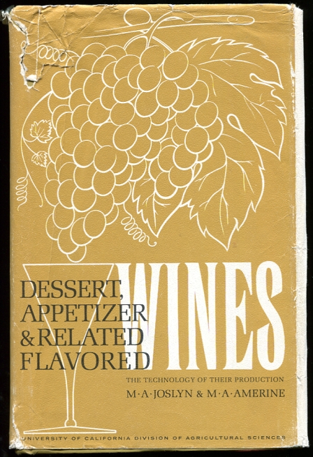 Image for Dessert, appetizer and related flavored wines  The technology of their production