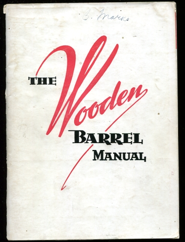 Image for The Wooden Barrel Manual