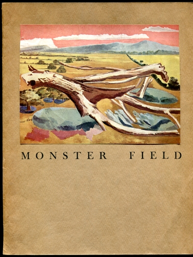 Image for Monster Field  A Discovery Recorded by Paul Nash