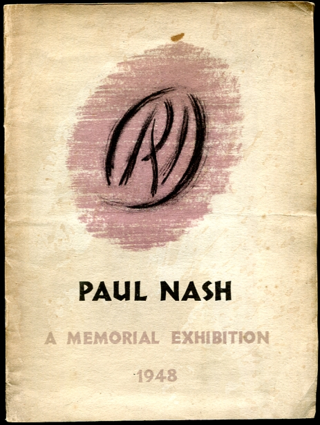 Image for Paul Nash 1889-1946 Paintings, Watercolours and Drawings A Section from the Memorial Exhibition