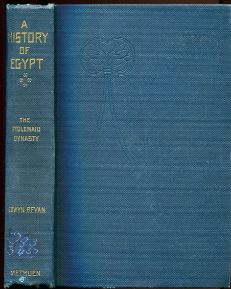 Image for A History of Egypt Under the Ptolemaic Dynasty